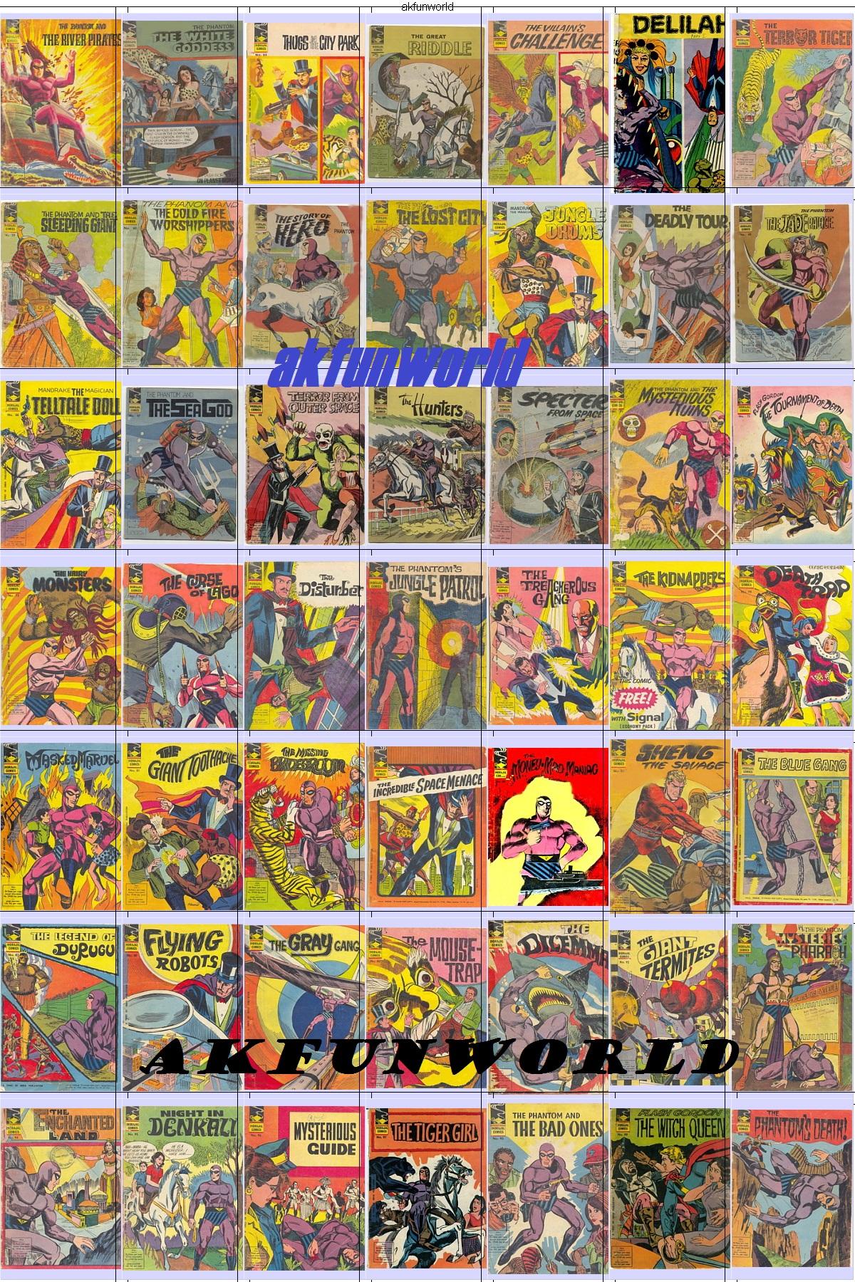 Mega Post: Indrajal Comics [English] Issue 51 to 100 All comics free